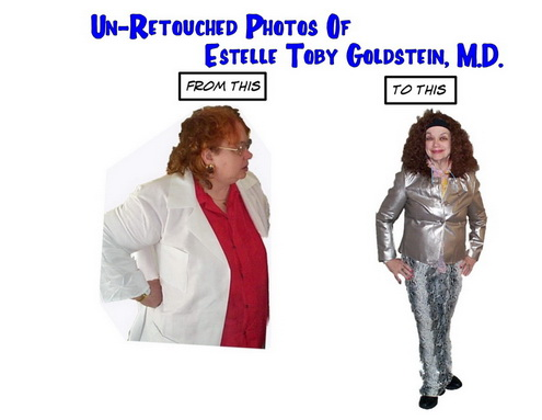 Before and After pictures of Dr. Goldstein's Massive Weight Loss